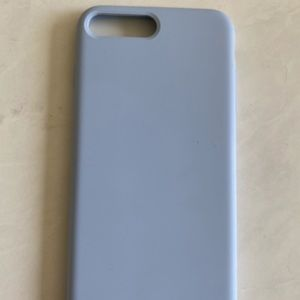 Light blue silicone case